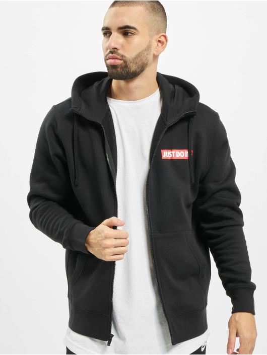 Nike Sweat capuche zippé JDI noir