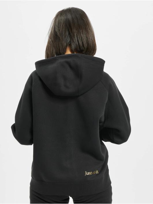 Nike Sweat capuche zippé Full Zip BB Shine noir