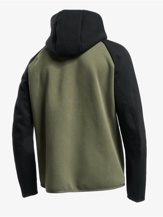 Nike Sportswear Tech Fleece Zip Hoody Twilight MarshBlackBlack