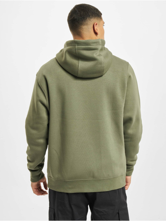 Nike Sweat capuche zippé M Club Full vert