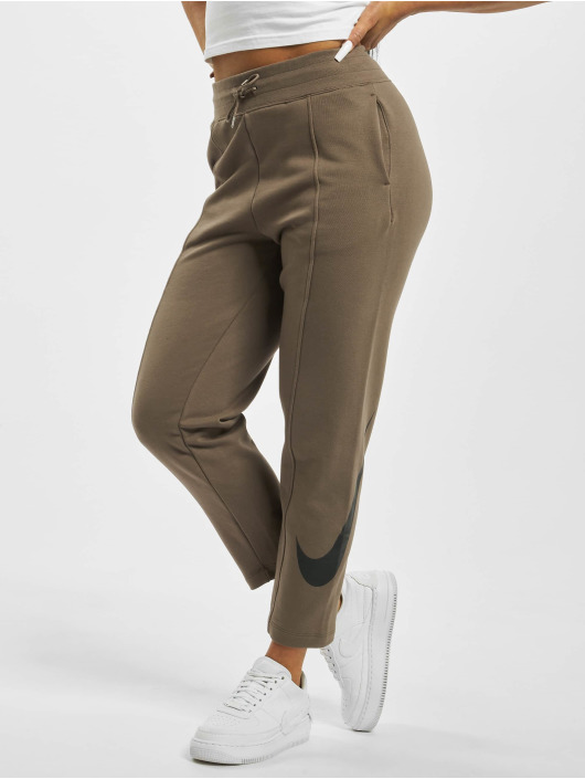 Nike Sweat Pant Swoosh French Terry brown