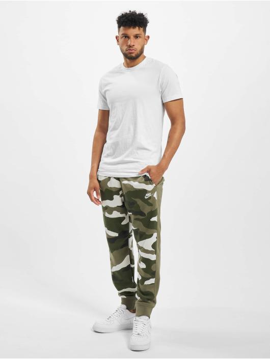 Nike Sweat Pant Club Camo olive