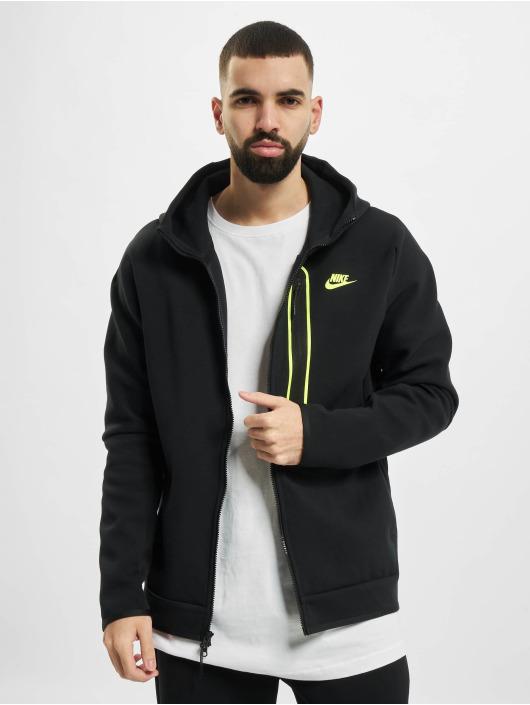 Nike Sweatvest M Nsw Tch Flc Fz Am zwart