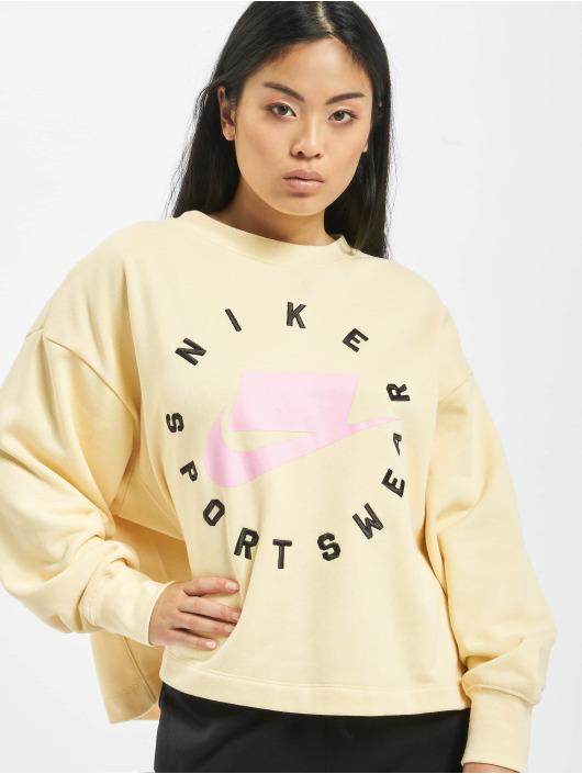 Nike Swetry Sportswear Crewneck bezowy