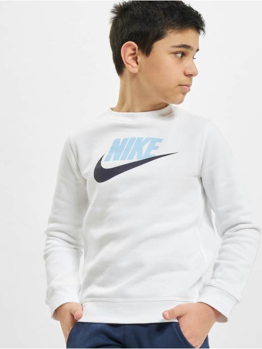 Nike Swetry Club HBR Crew bialy