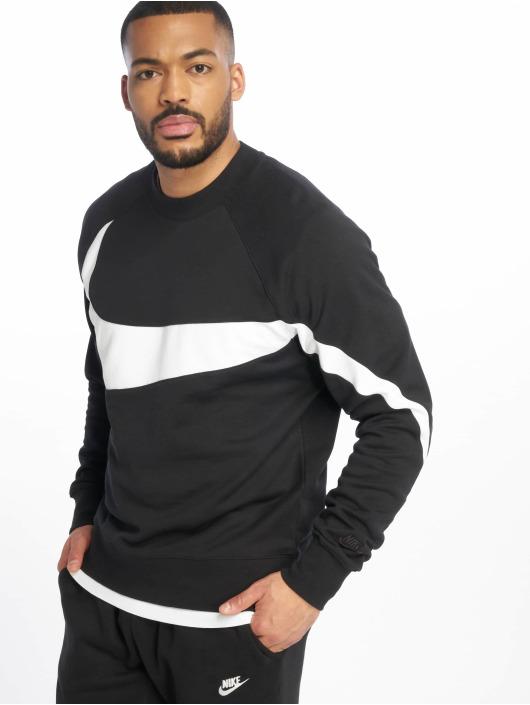 Nike Swetry HBR Crew Fit czarny
