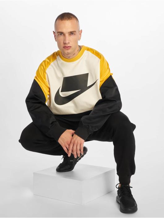 Nike Swetry Crew Woven czarny