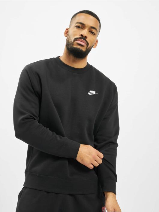 Nike Swetry Club Crew czarny