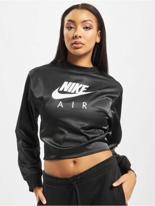 Nike Swetry Air Crew Satin czarny