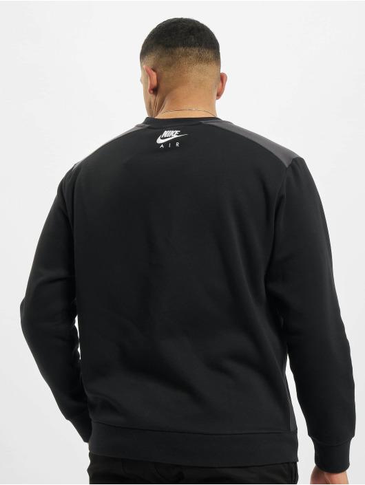 Nike Swetry M Nsw Air Flc Crew czarny