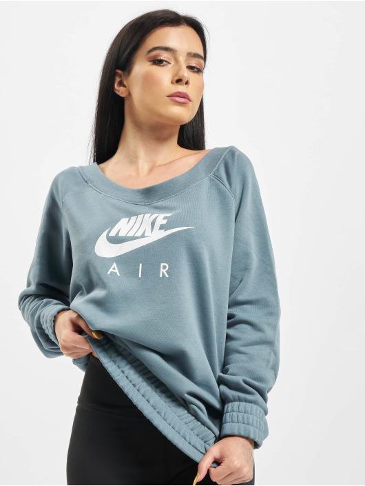 Nike Swetry Air Crew OS Fleece niebieski