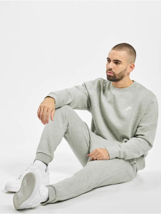 Nike Swetry Club Crew szary