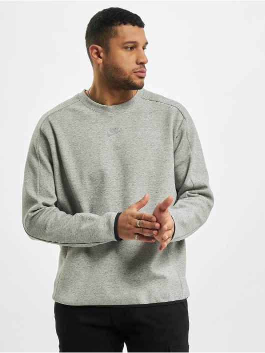 Nike Swetry Nsw Tech Fleece Crw Revival szary