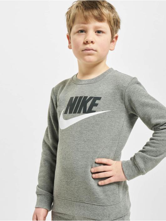 Nike Swetry Nkb Club Hbr szary