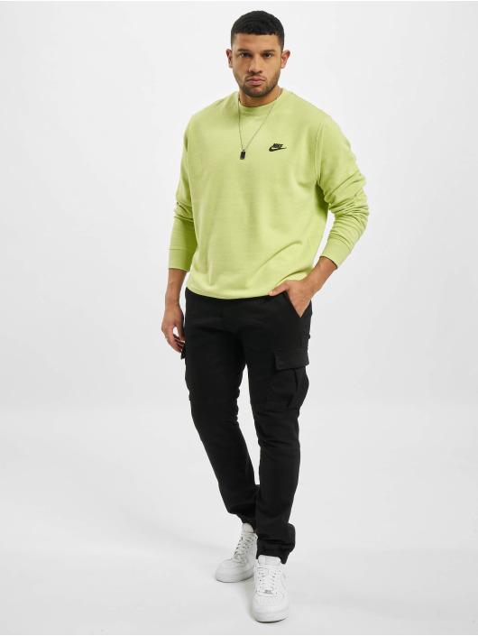 Nike Swetry Nsw Sb Crew Revival zólty