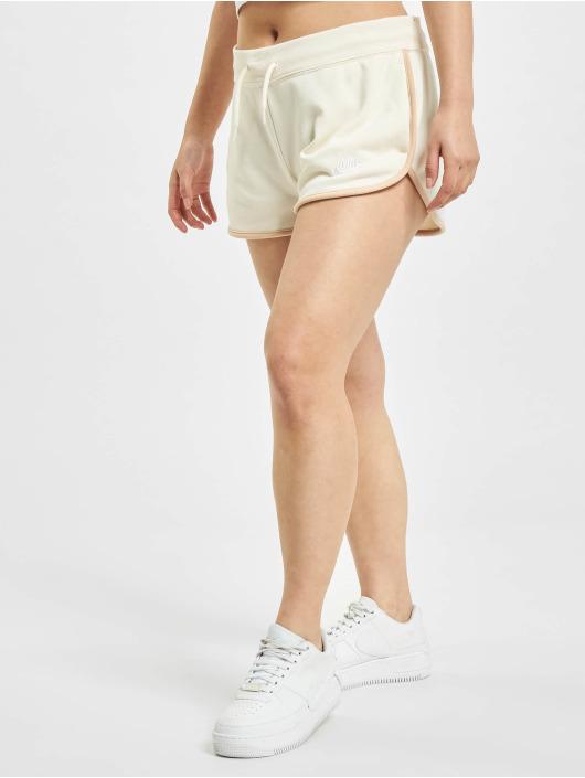 Nike Szorty Heritage Fleece bezowy