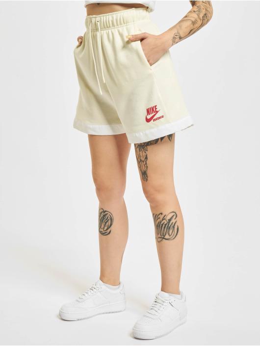 Nike Szorty Heritage Easy Fleece bezowy