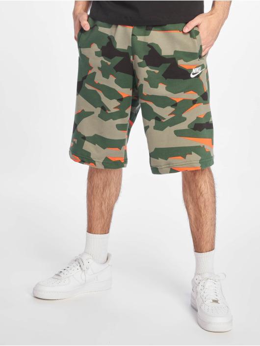 Nike Szorty Club Camo moro