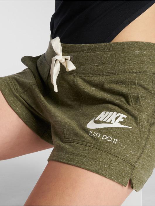 Nike Szorty NSW Gym Vintage oliwkowy