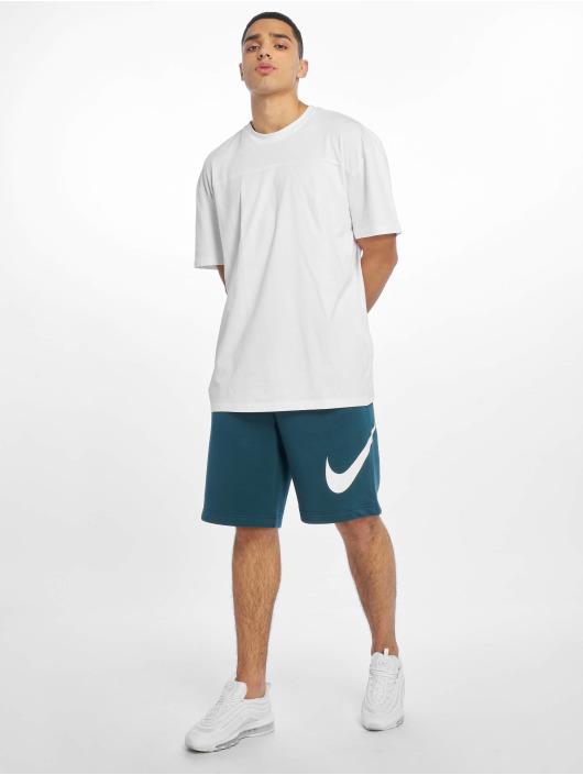 Nike Szorty Club EXP BB turkusowy
