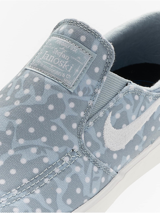 Nike Tøysko Zoom Janoski Slip Canvas blå