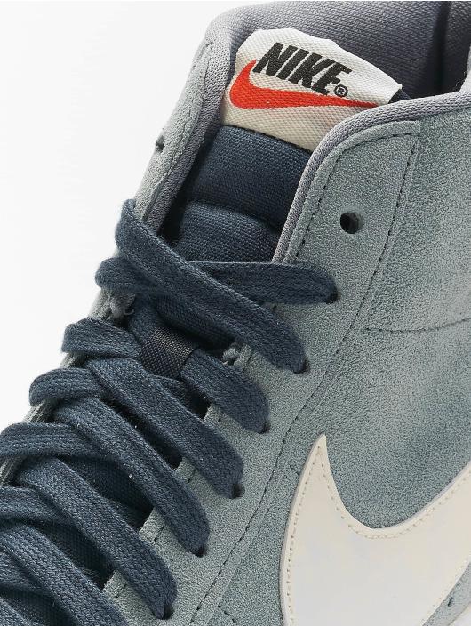 Nike Tøysko Blazer Mid Vintage Suede grå