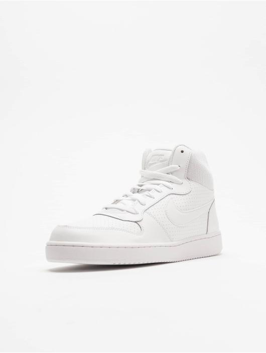 Nike Tøysko Court Borough Mid hvit
