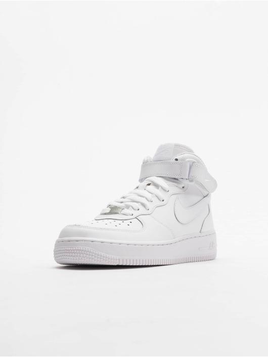 Nike Tøysko Air Force 1 Mid Kids Basketball hvit