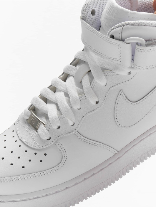 Nike Tøysko Air Force 1 Mid Kids Basketball hvit