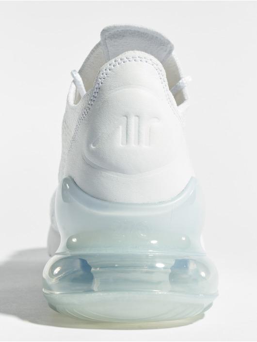 Nike Tøysko Air Max 270 Flyknit hvit