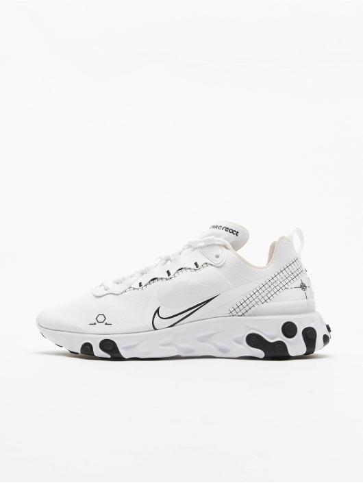 Nike Tøysko React Element 55 hvit