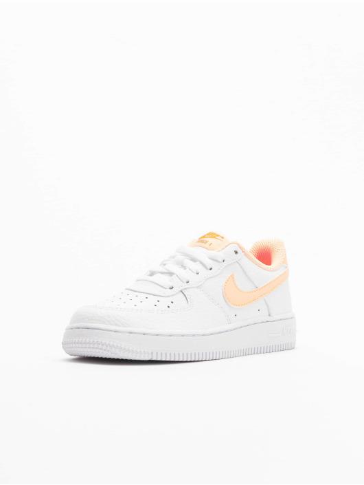 Nike Tøysko Force 1 (PS) hvit