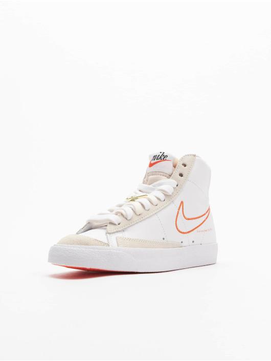 Nike Tøysko Blazer Mid '77 Se hvit