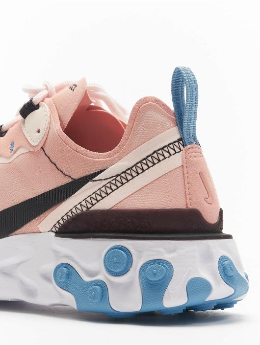 Nike Tøysko React Element 55 lyserosa