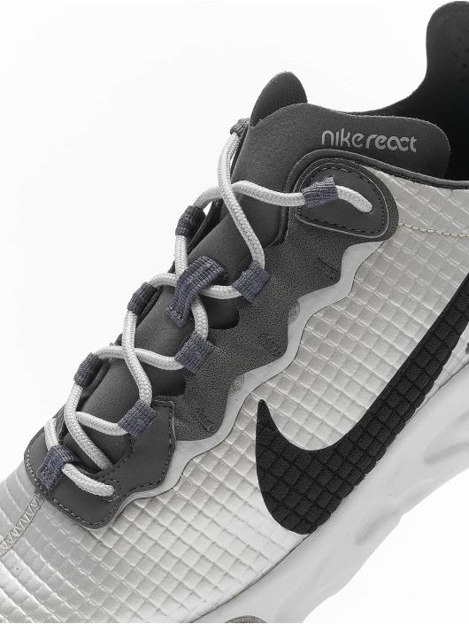 Nike Tøysko React Element 55 Premium sølv