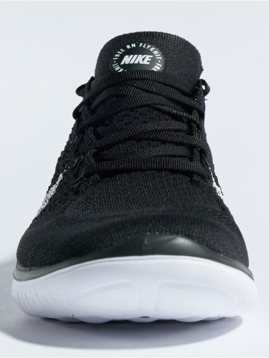 Nike Tøysko Free Rn Flyknit 2018 svart