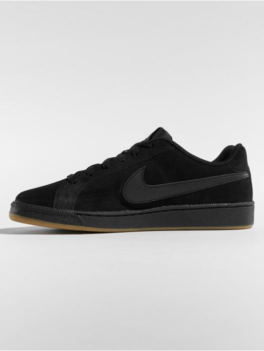 Nike Tøysko Court Royale Suede svart