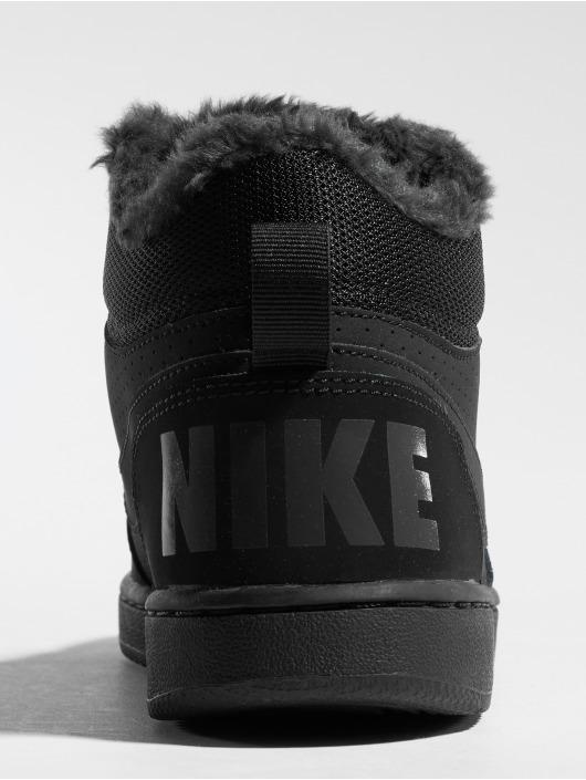 Nike Tøysko Court Borough Mid Winter svart