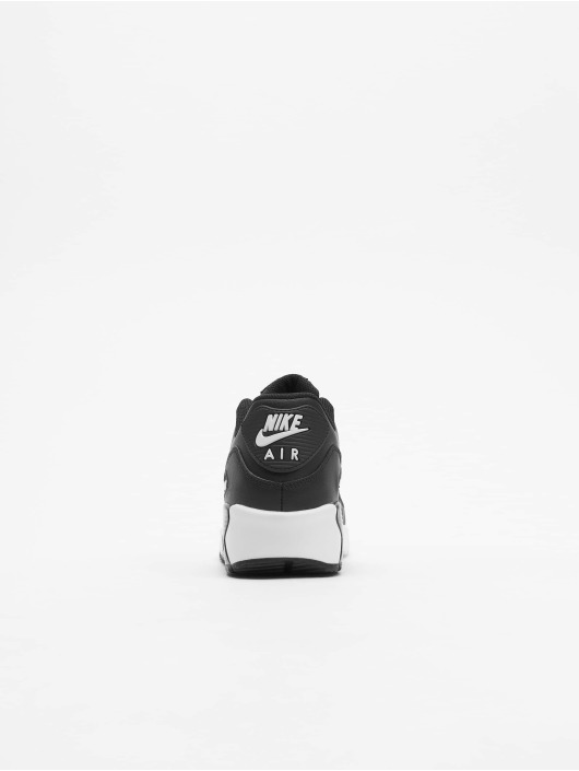Nike Tøysko Air Max 90 Leather svart