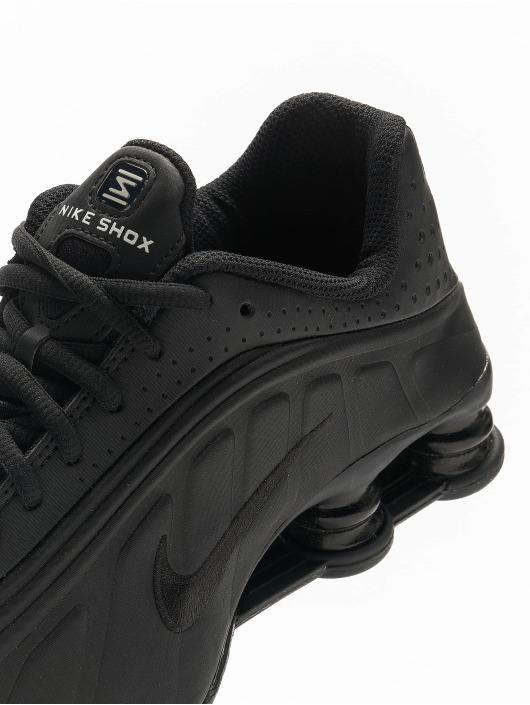 Nike Tøysko Shox R4 (GS) svart