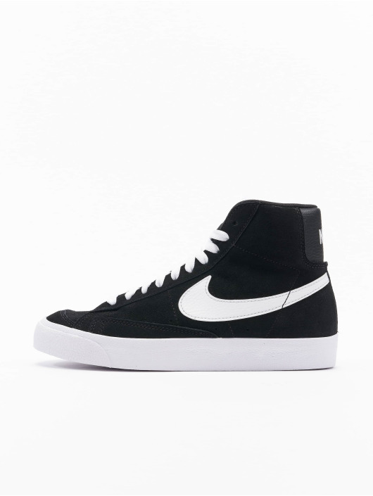 Nike Tøysko Blazer Mid '77 Suede (GS) svart