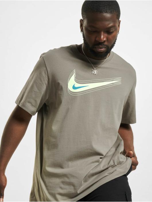 Nike T-paidat M Nsw Swoosh 12 Month khakiruskea