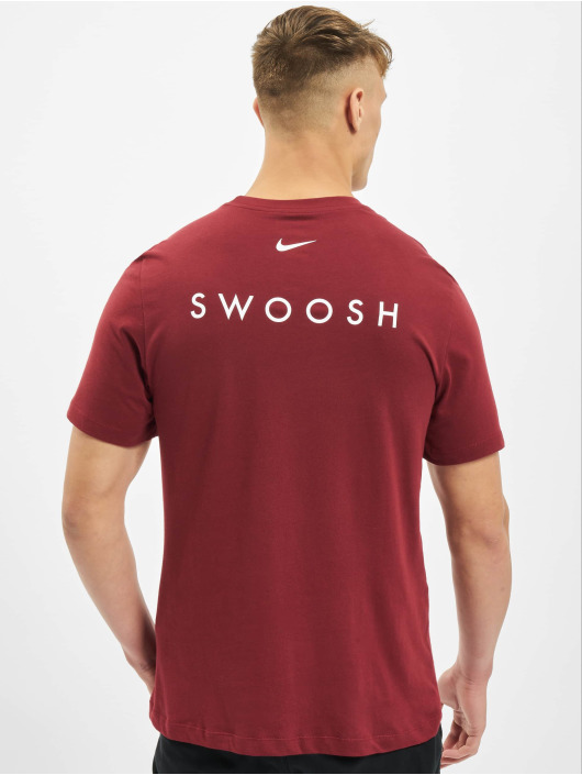 Nike T-paidat Swoosh punainen