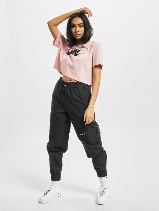 Nike T-paidat W Nsw Essntl Crp Icn Ftr roosa