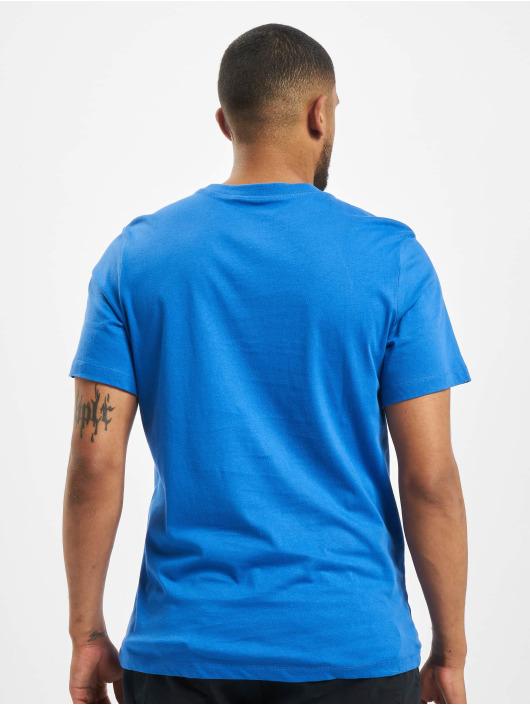 Nike T-paidat Just Do It Swoosh sininen