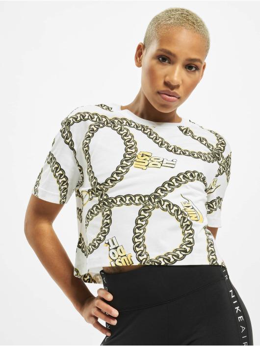 Nike T-paidat Glam Dunk valkoinen