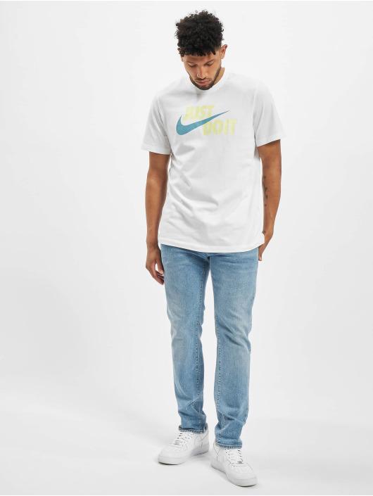 Nike T-paidat Just Do It Swoosh valkoinen