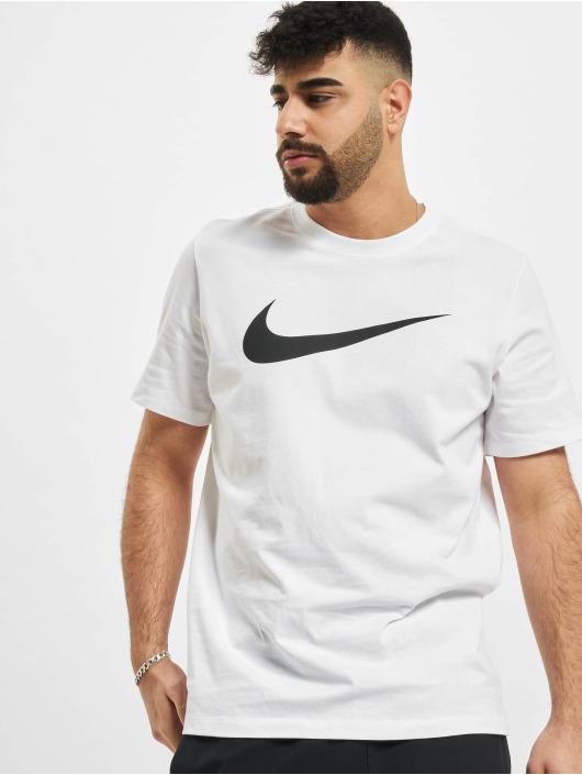 Nike T-paidat Swoosh valkoinen