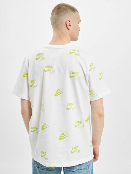 Nike T-paidat AOP valkoinen