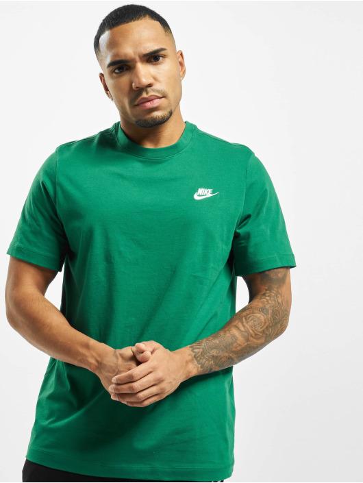 Nike T-paidat Club vihreä